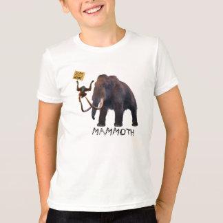 マンモス及びOrangosaurus Tシャツ