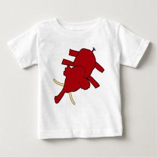 マンモス ベビーTシャツ