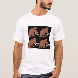 マンモス(2)のマンモス(2)のマンモス(2)のマンモス(2) Tシャツ