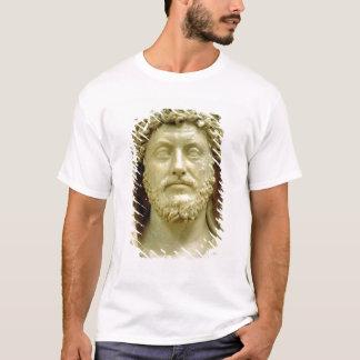 マーカスAureliusのポートレートのバスト Tシャツ