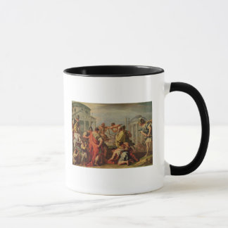 マーカスFurius CamillusおよびBrennus マグカップ