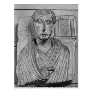 マーカスJ. Aristidesの葬式のレリーフ、浮き彫り ポストカード