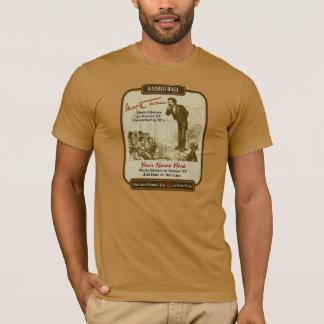 マーク・トウェインおよび私: ホーマーNYのティーの歴史の作成 Tシャツ
