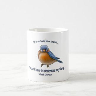 マーク・トウェインの引用文のマグ コーヒーマグカップ