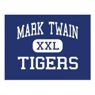 マーク・トウェイン-トラ-高中心のミズーリ ポストカード
