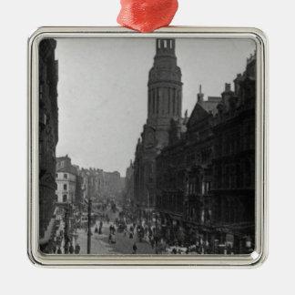マーケットストリート33番地、マンチェスター、c.1910 メタルオーナメント