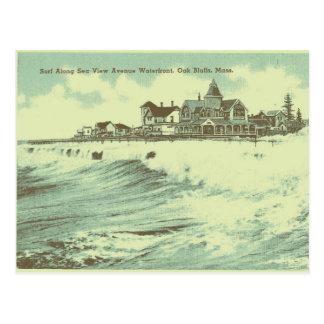 マーサのブドウ園の海 ポストカード