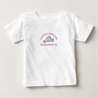 """マーサのブドウ園の""""地図""""の設計 ベビーTシャツ"""