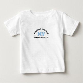 """マーサのブドウ園の""""学校代表""""の設計 ベビーTシャツ"""