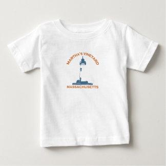 """マーサのブドウ園の""""灯台""""設計 ベビーTシャツ"""