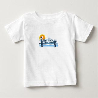 """マーサのブドウ園""""桟橋""""の設計 ベビーTシャツ"""