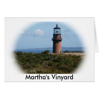 マーサのVinyardの灯台 カード