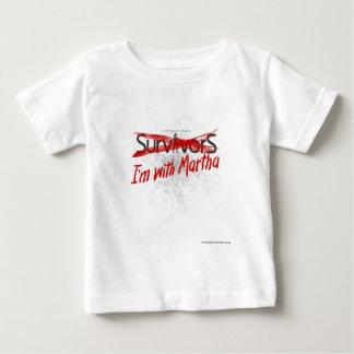 マーサ対生存者 ベビーTシャツ