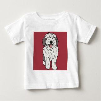 マーサ英国の牧羊犬 ベビーTシャツ