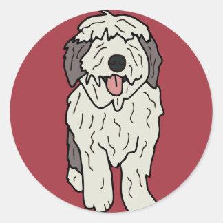 マーサ英国の牧羊犬 ラウンドシール