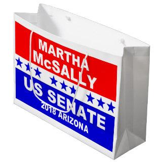 マーサMcSallyの上院の2018年のアリゾナのギフトバッグ ラージペーパーバッグ