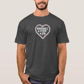 マーシャルおよびSteph 4エヴァ Tシャツ