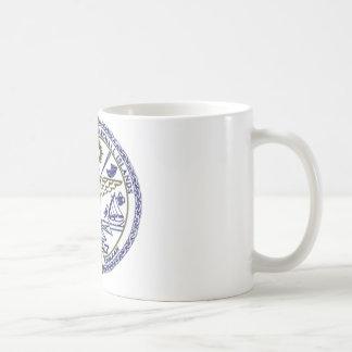 マーシャルアイランドの国民のシール コーヒーマグカップ