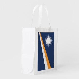 マーシャルアイランドの旗 エコバッグ