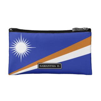 マーシャルアイランドの旗 コスメティックバッグ