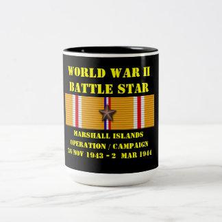 マーシャルアイランド操作のキャンペーン ツートーンマグカップ