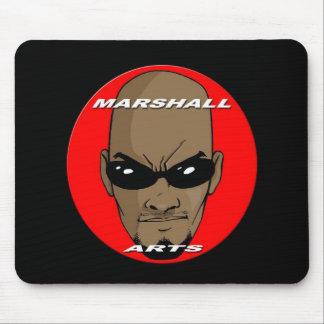 マーシャル芸術のロゴのマウスパッド マウスパッド