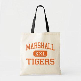 マーシャル-トラ-高マーシャルミネソタ トートバッグ