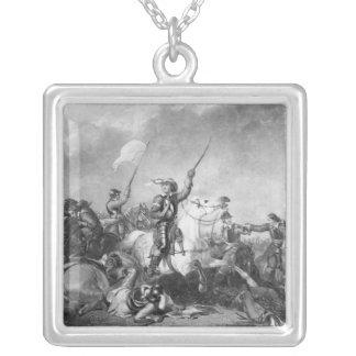 マーストン・ムーアの戦いは、1644年7月2日 シルバープレートネックレス