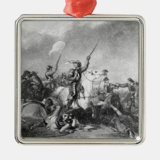 マーストン・ムーアの戦いは、1644年7月2日 メタルオーナメント
