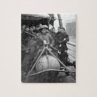 マーセルDupuyの若いベルギー人のfather_Warイメージ ジグソーパズル