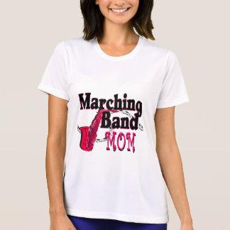 マーチングバンドのお母さんのサクソフォーン Tシャツ