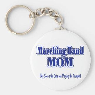 マーチングバンドのお母さんのトランペット キーホルダー
