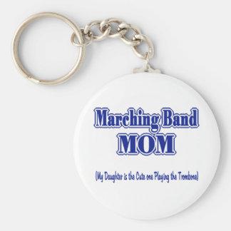 マーチングバンドのお母さんのトロンボーン キーホルダー