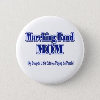 マーチングバンドのお母さんのピッコロ 5.7CM 丸型バッジ
