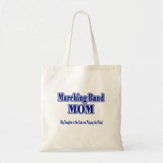 マーチングバンドのお母さんのフルート トートバッグ