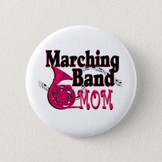 マーチングバンドのお母さんのフレンチ・ホルン 缶バッジ