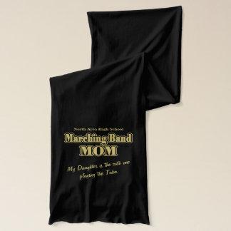 マーチングバンドのお母さんの金ゴールド スカーフ