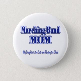 マーチングバンドのお母さんOboe 5.7cm 丸型バッジ