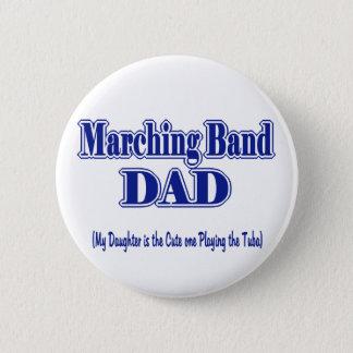 マーチングバンドのお父さんのテューバ 5.7CM 丸型バッジ