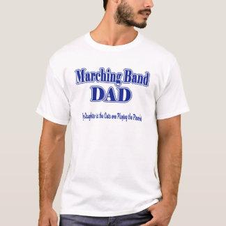 マーチングバンドのお父さんのピッコロ Tシャツ