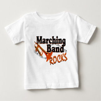 マーチングバンドの石 ベビーTシャツ
