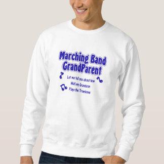 マーチングバンドの祖父母のトロンボーン スウェットシャツ
