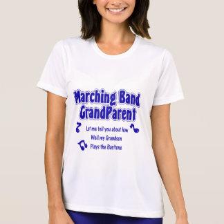 マーチングバンドの祖父母のバリトン歌手 Tシャツ