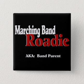 マーチングバンドRoadie 5.1cm 正方形バッジ