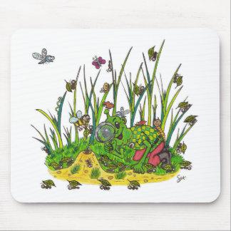 マーティンおよび昆虫 マウスパッド