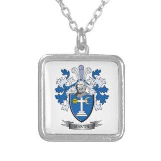 マーティンの紋章付き外衣 シルバープレートネックレス