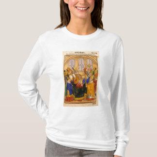マーティンは法皇としてV取付けられています Tシャツ