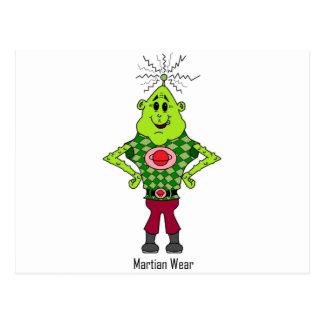 マーティン火星人 ポストカード
