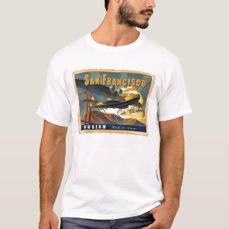 マーティン130の飛行艇 Tシャツ