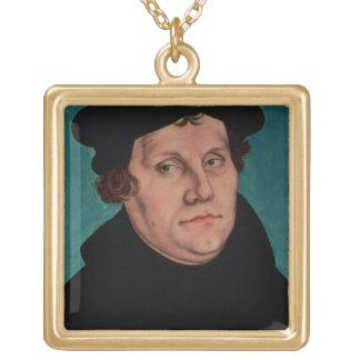 マーティンLuther 1529年のポートレート ゴールドプレートネックレス